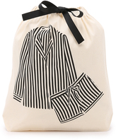 Bag-all Striped Pajamas Organizing Bag