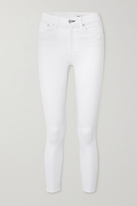 Rag & Bone Nina Cropped High-rise Skinny Jeans - White