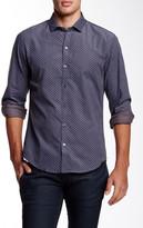 Zachary Prell Michael Long Sleeve Printed Shirt