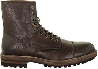 Brunello Cucinelli Combat Leather Boots