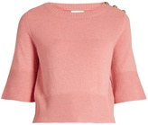 BARRIE Cashmere-knit top
