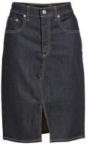 AG Jeans Women's Emery High Waist Denim Skirt