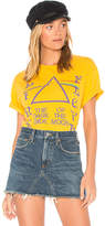 Junk Food Clothing Pink Floyd Dark Side Of The Moon Tee in Yellow. - size XS (also in )