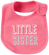 Carter's Little Sister Teething Bib