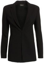 Akris Notch Lapel Wool Blazer
