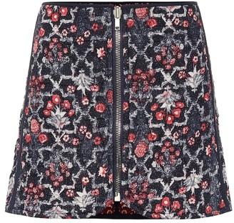 Etoile Isabel Marant Marily printed linen miniskirt