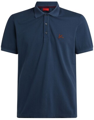Isaia Coral Polo Shirt