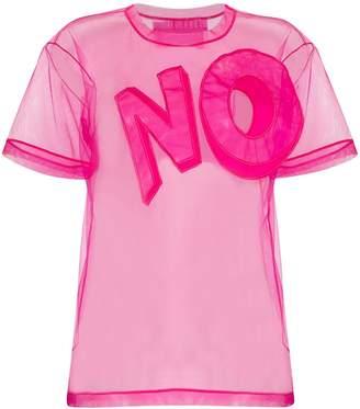 Viktor & Rolf No-applique mesh T-shirt