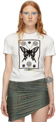 MAISIE WILEN White Flocked T-Shirt