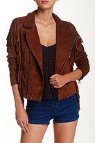 Volcom Persuede Me Genuine Leather Jacket
