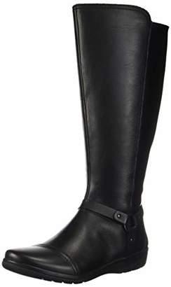 Clarks Women's Cheyn Lindie Wide Calf Knee High Boot