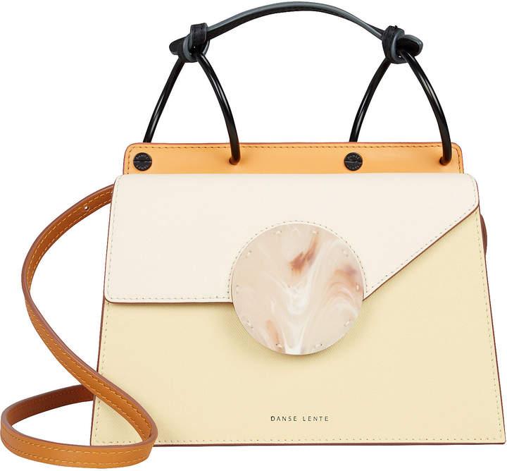 Danse Lente Mini Phoebe Ivory Crossbody Bag