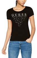 GUESS Women's SS RN Stars Tee Kniited Tank Top