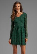 Dolce Vita Selene Eyelash Lace Dress