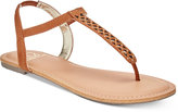 Material Girl Roesia Flat Sandals, Created for Macy's
