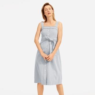 Everlane The Cotton Weave Picnic Dress