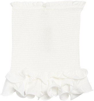 Do & Be Convertible Smocked Ruffled Top/Skirt