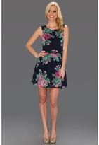 Gabriella Rocha Mariette Floral Dress w/Belt