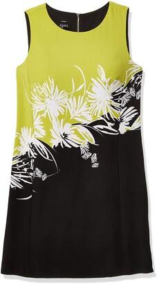 Jones New York Women's Slvlss Floral Place Print Shift