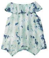 Splendid Girls' Tie-dye Voile Top.