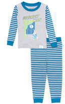 Intimo Blue & Gray Goodnight Moon Pajama Set - Infant Toddler & Boys