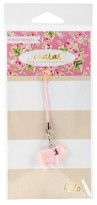 "Webster Charm Embellishment Pink Piggy-Multicolor 6""x3"""