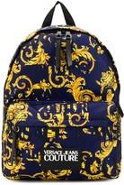 Versace signature-print backpack