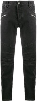 Balmain Biker slim-fit jeans