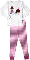 Jo-Jo JoJo Maman Bebe Jersey Long Pajamas (Toddler/Kid) - Robin-4-5 Years