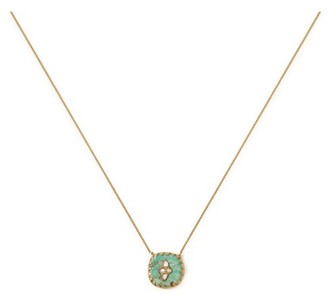 Pascale Monvoisin Pierrot N2 Necklace Turquoise