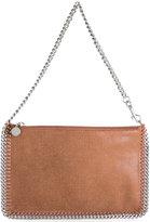 Stella McCartney Falabella clutch bag - women - Polyacrylic - One Size