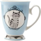 Maxwell & Williams Purrfect Mug, Blue, 290ml