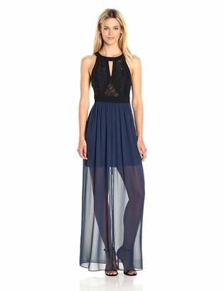 BCBGeneration Women's Lace Bodice Maxi Dress