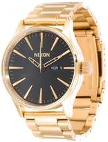 Nixon Sentry A356 Watch Goldfarben/schwarz