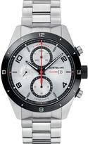 Montblanc 116099 TimeWalker stainless steel and leather chronograph watch