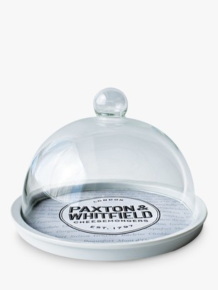 Paxton and Whitfield Cheese Dome & Plate