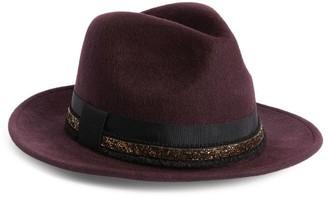 Vivien Sheriff Trilby Hat