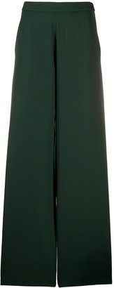 Societe Anonyme High-Waist Flared Trousers