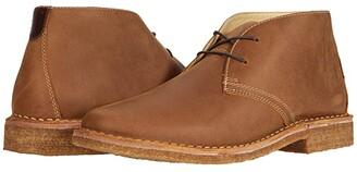 Johnston & Murphy Donnelson Plain Toe Chukka (Brown Oiled Full Grain Leather) Men's Boots