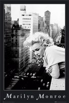 Monroe Poster Revolution Marilyn Movie (On Balcony) Poster Print - 24x36