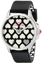 Juicy Couture Women's 1901220 Jetsetter Analog Display Quartz Black Watch