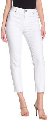 1822 Denim High Rise Solid Mom Jeans