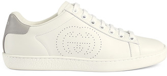 Gucci New Ace Sneakers in White | FWRD