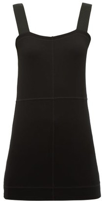 Lemaire Overlocked Jersey Tank Top - Womens - Black