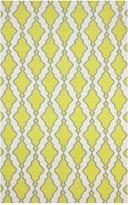 nuLoom Flat Woven Tracey Wool Rug - Yellow