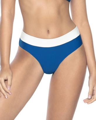 PQ Swim High-Waist Full-Coverage Bikini Bottoms