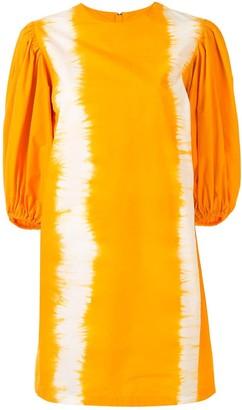 MSGM Tie-Dye Print Dress
