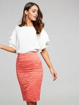 Portmans Lace Pencil Skirt