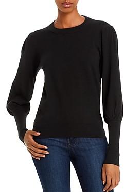Minnie Rose Balloon-Sleeve Sweater