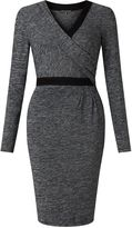 Adrianna Papell Faux wrap dress